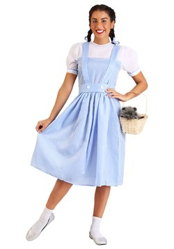 Disfraz de vestido de chica de Kansas para adulto