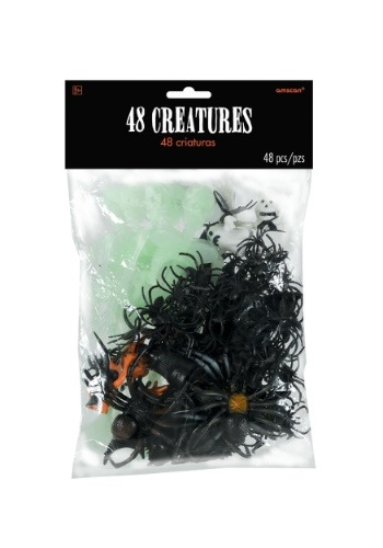 Bolsa de criaturas de Halloween (48 en bolsa)