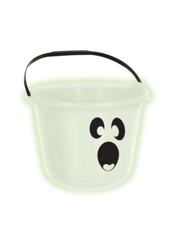 Cubo de dulces de calabaza fantasma