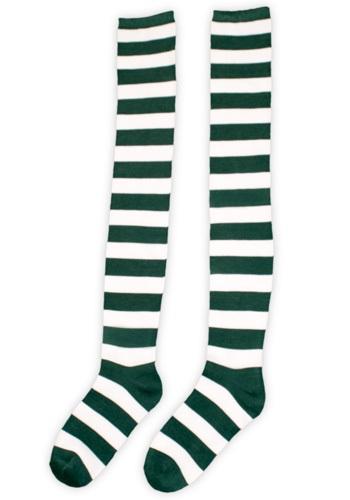 Calcetines de Munchkin verdes y blancos