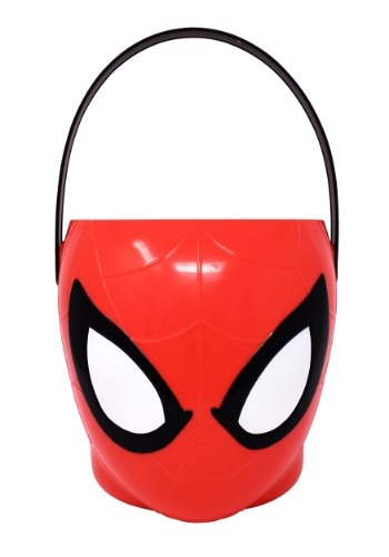 Cubo de plástico de Trick or Treat de Spiderman