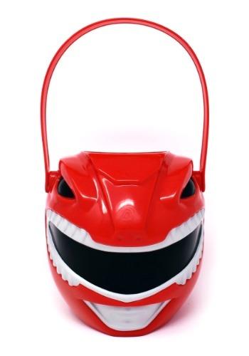 Cubo de plástico para pedir dulce o truco de Power Ranger