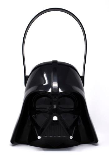 Cubo plástico de truco o trato de Darth Vader