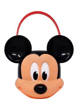 Cubeta de plástico de Mickey Mouse para pedir dulce o truco