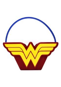 Wonder Woman Truco de plástico o cubo de regalo
