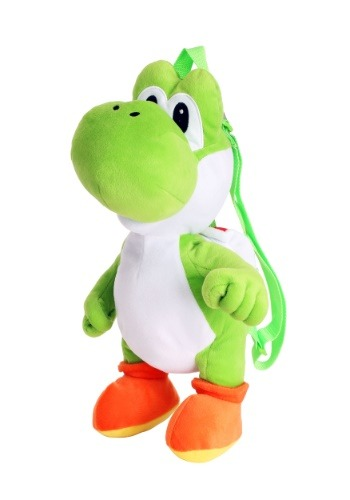 Mochila de felpa Super Mario Yoshi