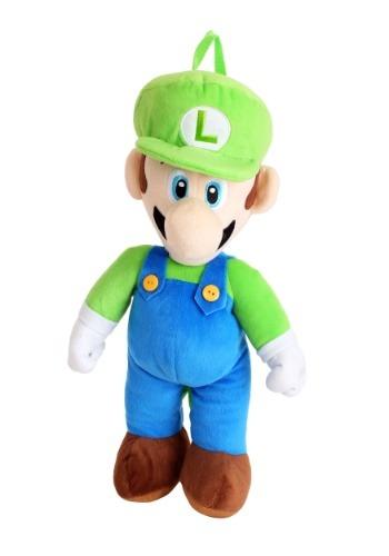 Mochila de felpa Super Mario Luigi