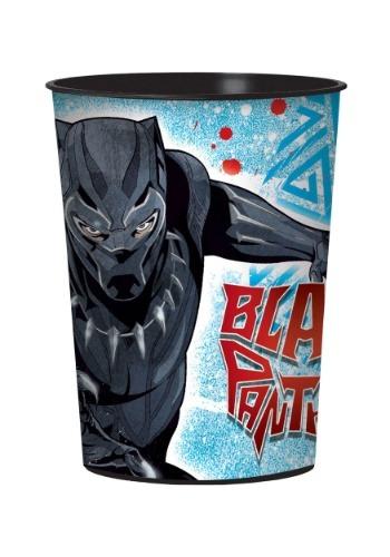 Vaso de fiesta de plastico de Marvel Black Panther de 16 oz.