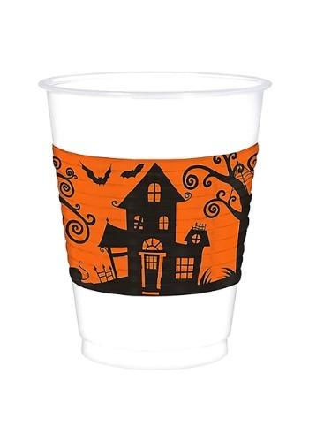 Vaso de 16 oz. para fiesta de Halloween de plástico
