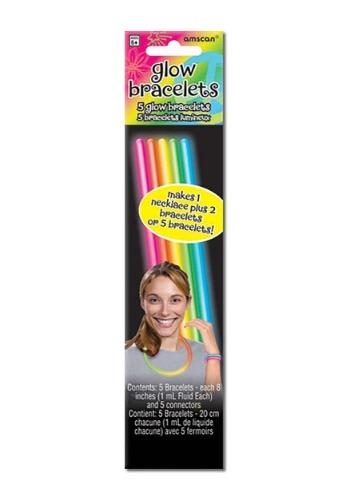 Pack de 5 varas luminosas de colores