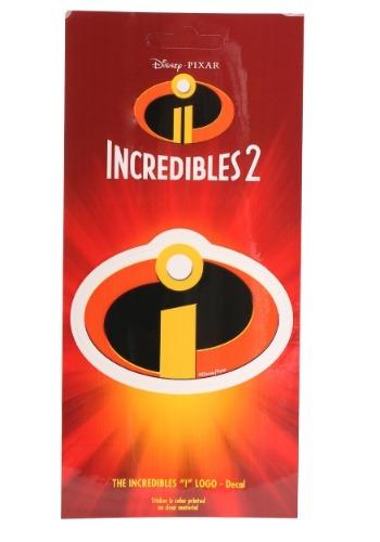 Calcomanía del logo exclusivo de Los Increíbles de Disney