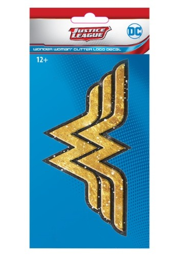 DC Justice League Exclusive Wonder Woman Oro 4x8 Glitter De