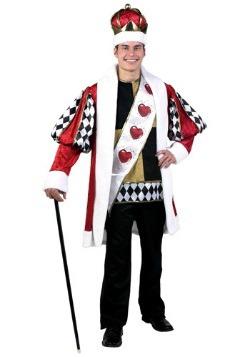 Disfraces de Rey de Corazones talla extra