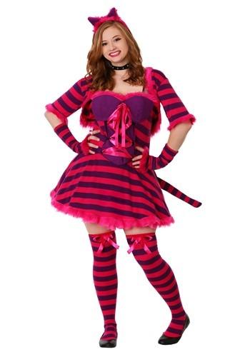 Disfraz de gato sexy de Wonderland talla extra