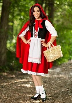 Disfraz de Caperucita Roja talla extra