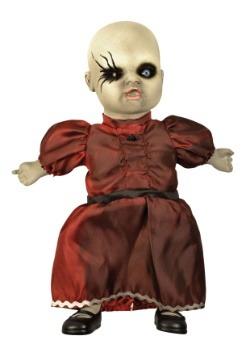 Muñeca de porcelana embrujada - Vestido rojo