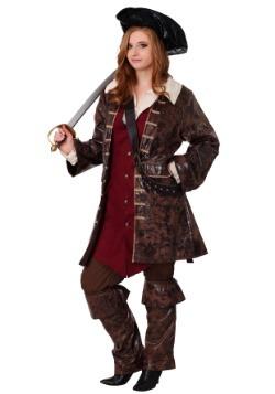 Disfraz de Pirata del Caribe para mujer de talla grande