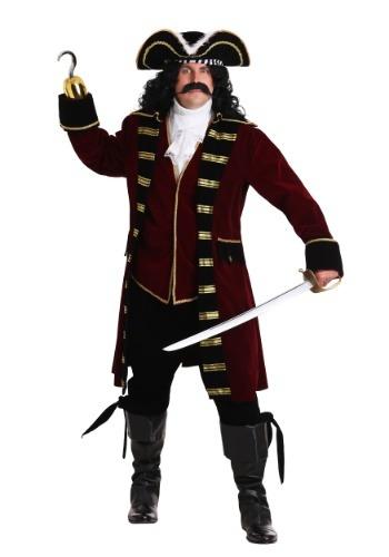 Disfraz de Capitán Garfio Plus Size Deluxe