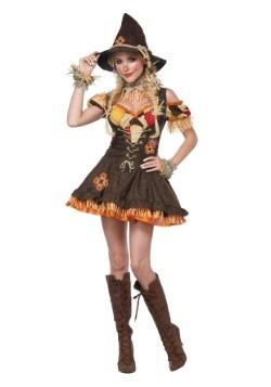 Disfraz descarado de espantapájaros para mujer