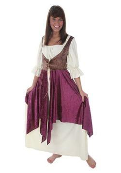 Disfraz de mujer de la taberna talla extra