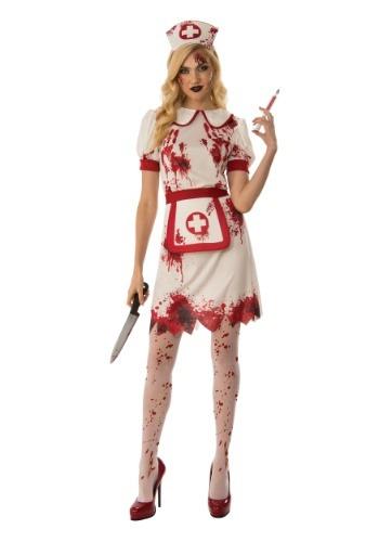 Disfraz de enfermera sangrienta para mujer