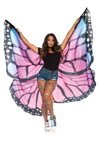 Alas de mariposa púrpura
