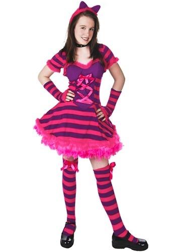 Disfraz de gato de Wonderland para adolescente