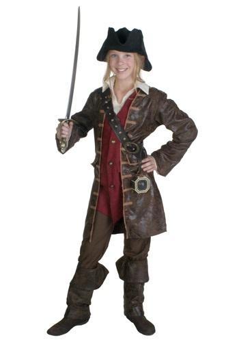 Disfraz de pirata caribeña para chicas adolescentes
