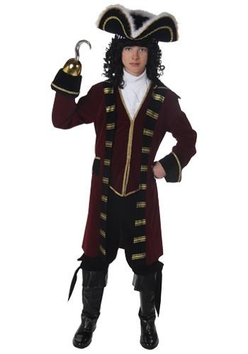 Disfraz de capitán Garfio para adolescente