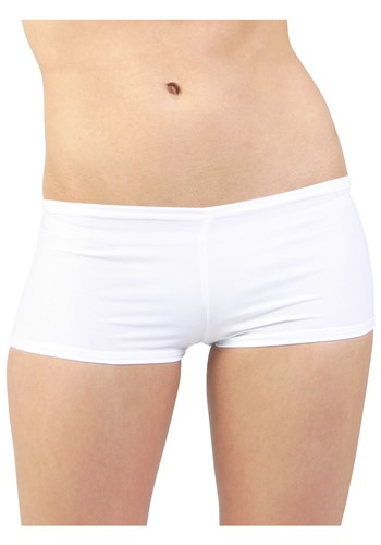 Hot Pants blancos talla extra