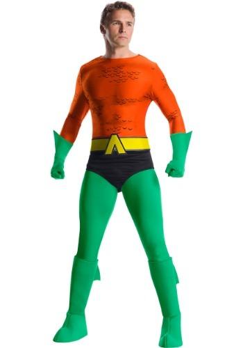 Disfraz de Aquaman premium hombre clásico
