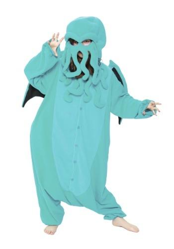 Disfraz de Cthulhu Kigurumi para adulto