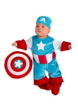 Disfraz de Capitán América para bebé