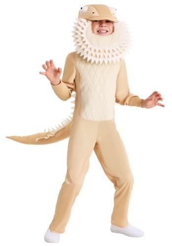 Disfraz de dragón barbudo para niños