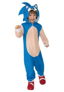 Traje con capucha de Childic Sonic the Hedgehog
