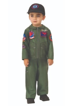 Top Gun Toddler Romper