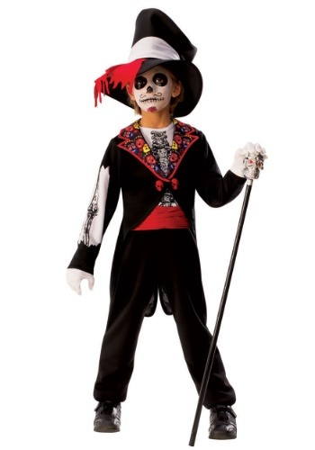 Disfraz de Día de los Muertos para Niños
