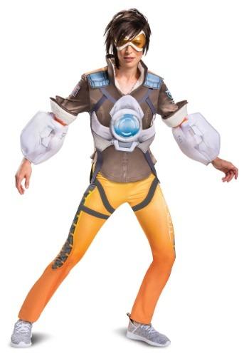 Disfraz Overwatch Tracer Deluxe para mujer