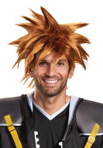 Disney Kingdom Hearts Adult Sora peluca