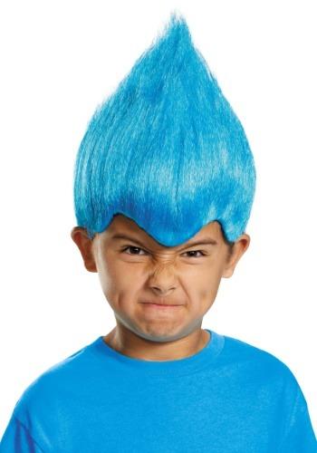 Peluca Wacky Niño Azul