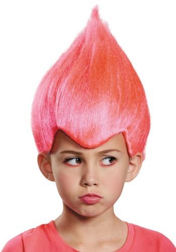 Peluca infantil rosada