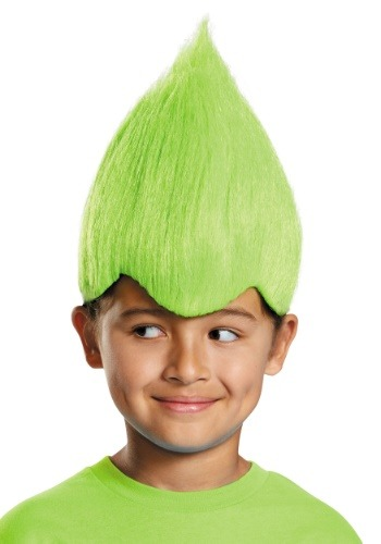 Peluca verde infantil Wacky