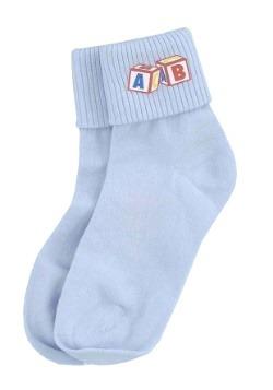 Calcetines para bebé azules
