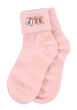 Calcetines para bebé rosas