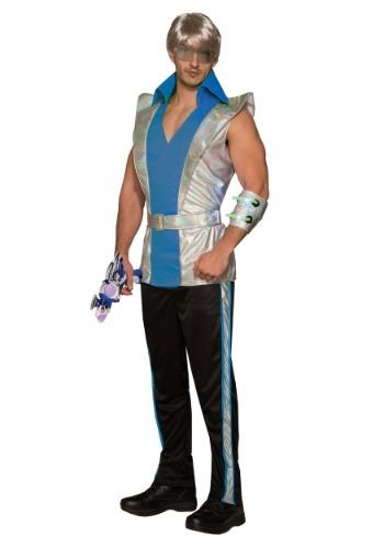 Disfraz de capitán cósmico de los hombres