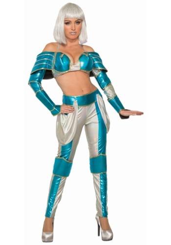 Disfraz de reina guerrera del espacio para mujer