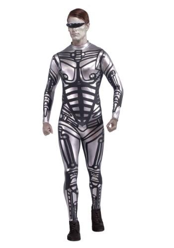 Disfraz mameluco de robot para hombre