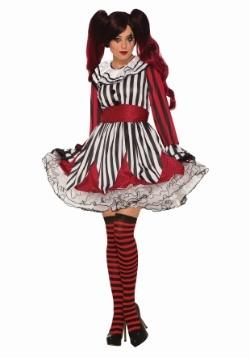 Disfraz de payaso Miss Travesura