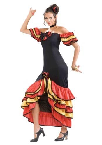 Disfraz de dama española para mujer