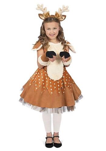 Disfraz del Ciervo Doe para niñas
